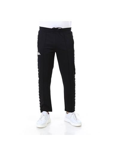 Kappa Şeritli Pantolon Seırt  Siyah